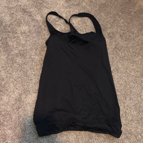 lululemon athletica Tops - Lululemon Open Back Tank w/ Built in Sports Bra